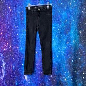 Zara- Off Black Skinny Cropped Jeans size 4